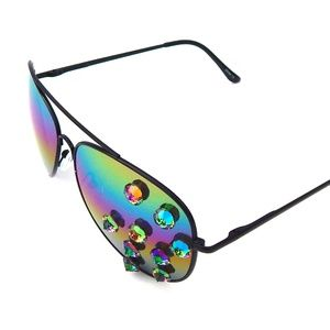 ROAD RUNNER DEVIL RAINBOW AVIATORS NEW